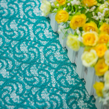 China Manufacturer Multi Color Guipure 3D Lace Fabric For Sale