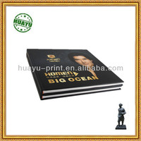 Low price Full color perfect binding big ocean brochure printing