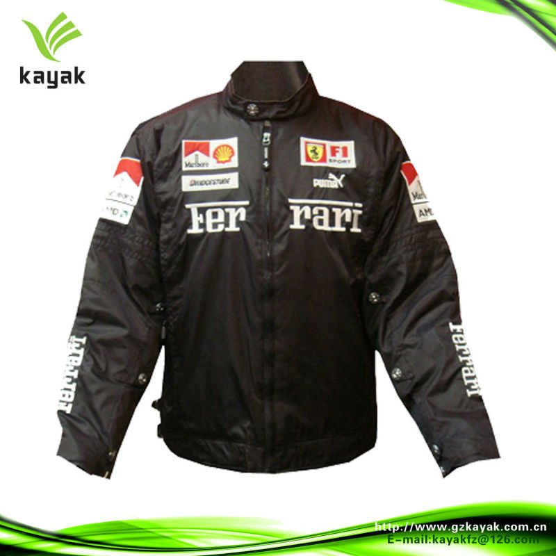 Customized made unique safety motorcycle jackets for men