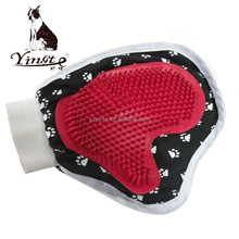 Yangzhou yingte factory direct hot sales pet grooming cleaning bath glove