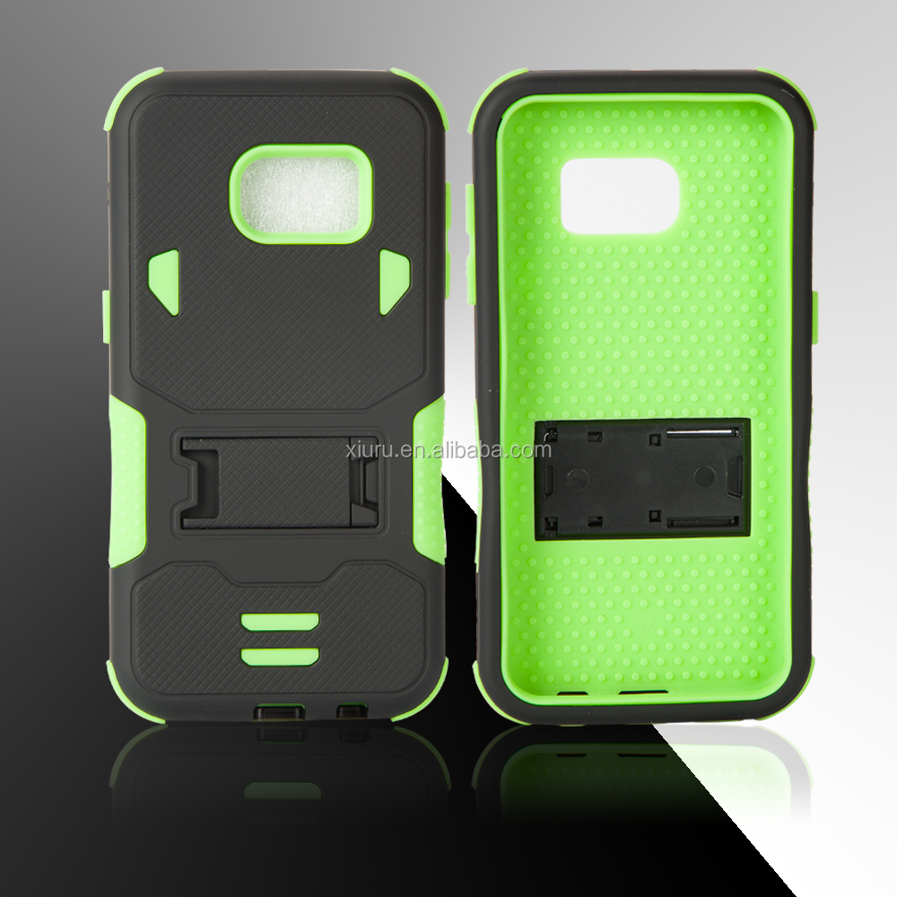 2 in 1 TPU PC case mobile accessories with kickstand phone case back cover for samsung galaxy j2
