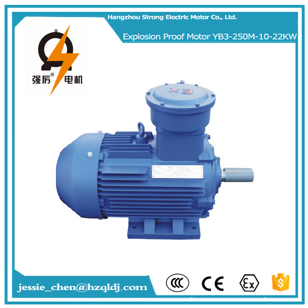 chinese 220 volt ac 22kw 30hp explosion proof electric motor for air compressor