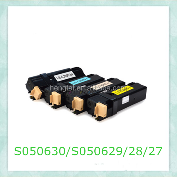 S050627/S050628/S050629/S050630 For EPSON Refill Compatible Toner Cartridge Match whith Aculaser C2900/CX29