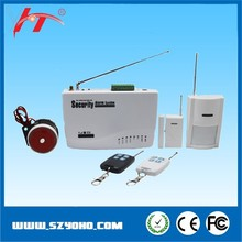 SMS alert anti-intrusion gsm home security alarm system