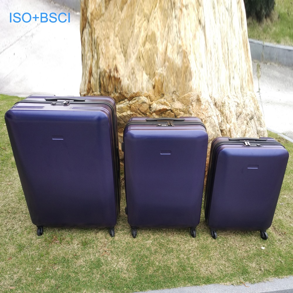 Wholesale travel carring luggage hard pc case