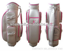 2013 Canvas Fashion Design your own golf bag for Lady Golfer