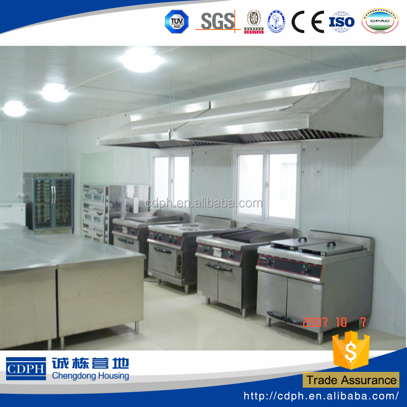 Modern kitchen designs used for construction camp and minning camp