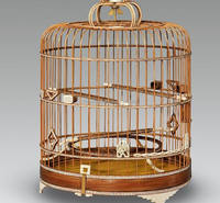 hot sale high quality bamboo bird cages for sale