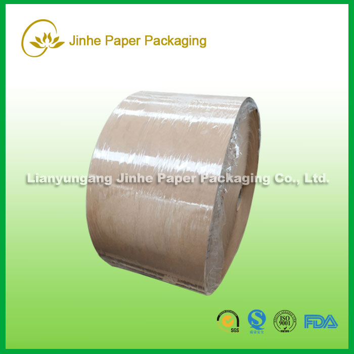 New Products brown kraft paper/kraft paper with pe coating