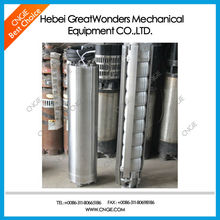 Electric deep bore well submersible water pump