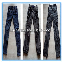 MIXED SECOND HAND JEAN PANTS IN CONTAINER