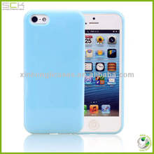 Cute Glossy Soft TPU Phone Case Cover Skin For iPhone 5S 5G 5(5colors)