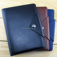 Office stationery cheap custom a5 hardcover pu leather notebook