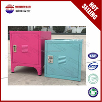 half height customized metal colorful kids cupboard / children locker cupboard