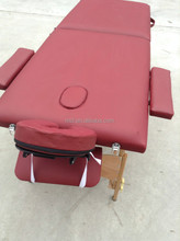 Cheap 2 folding portable wooden Massage tables