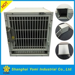 Top durable iron/ stainless steel dog kennel factory direct