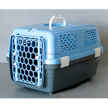 High Quality Outdoor Use Plastic Pet Travel Cage
