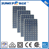 High efficiency 190W mono folding solar panel