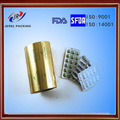 pharmaceutical packing double side gold aluminum foil