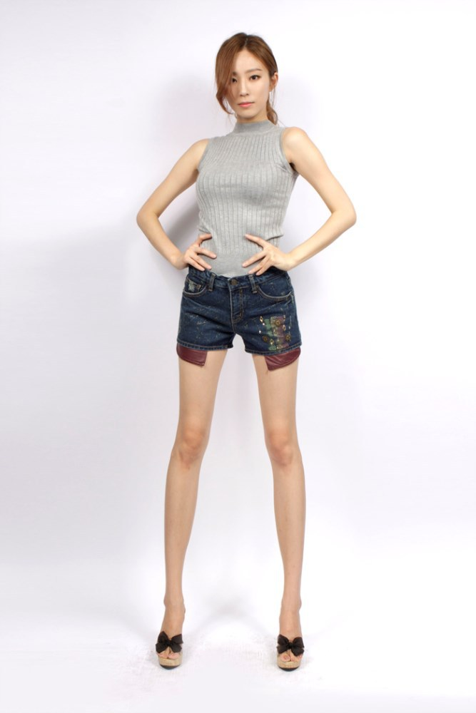CP-620-1410 Fashion Jeans short pants for Women
