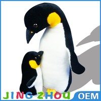 mom and baby plush toys pingu soft toy,stuffed penguin plush toy