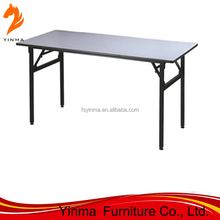 Square folding hotel banquet table for events