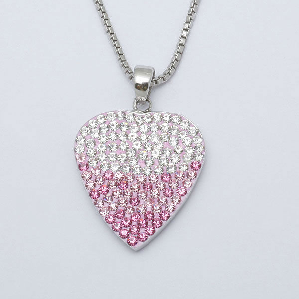 heart pendant, silver pendant, 925 sterling silver