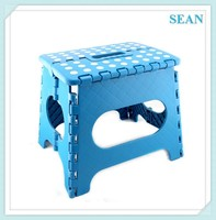Custom Logo plastic black kitchen stools with non-slip mat ningbo sean