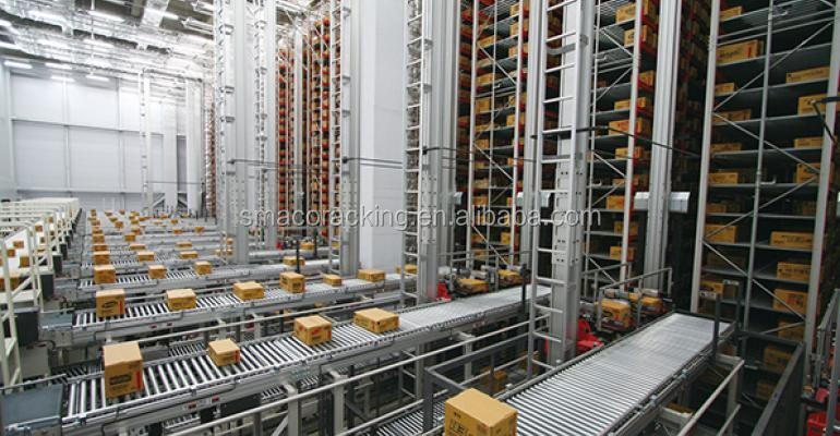 Logistic Inventory Automation System ASRS with Selective Storage Racking