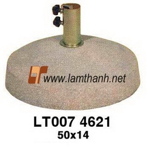 Vietnam Red Terrazzo Decorative Umbrella Base