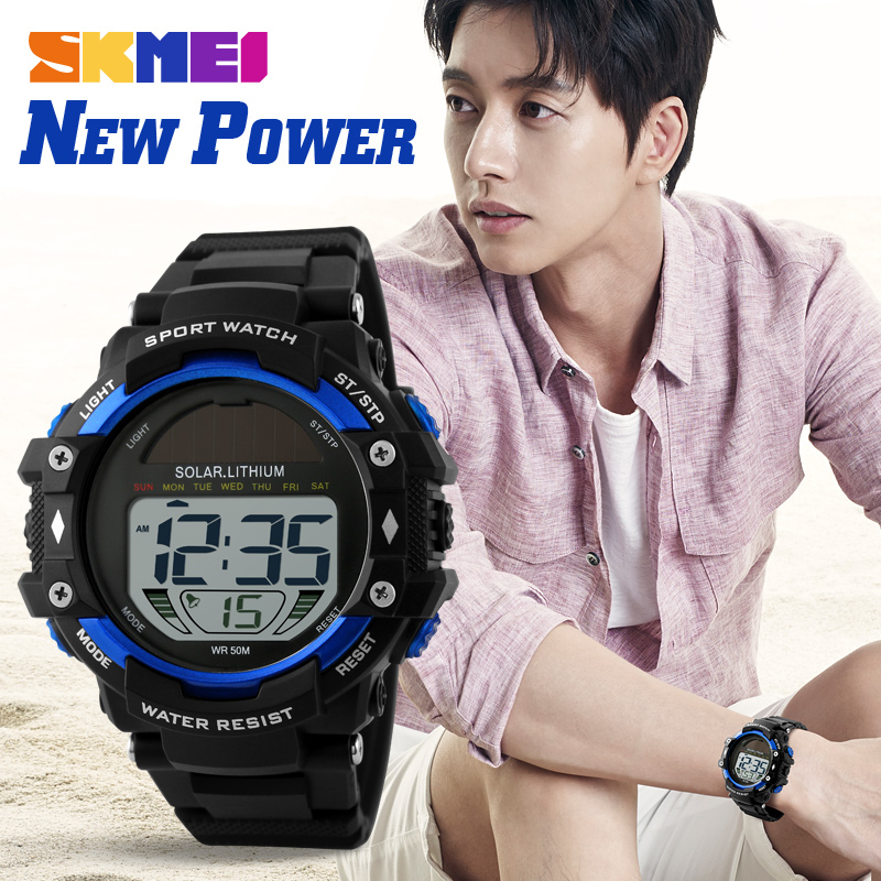 SKMEI new fashion outdoor sport multifunctional altimeter watch for climbing 1129