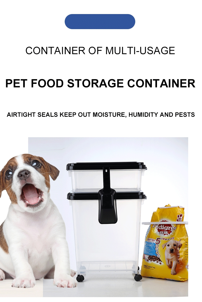Wholesale Stackable Airtight Plastic Dog Food Storage Bin, Dog Food Storage Bin/