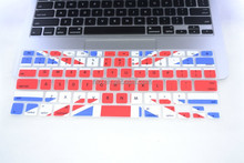 "UK National flag pattern silicone keyboard cover for MacBook Pro 17"", welcome OEM"