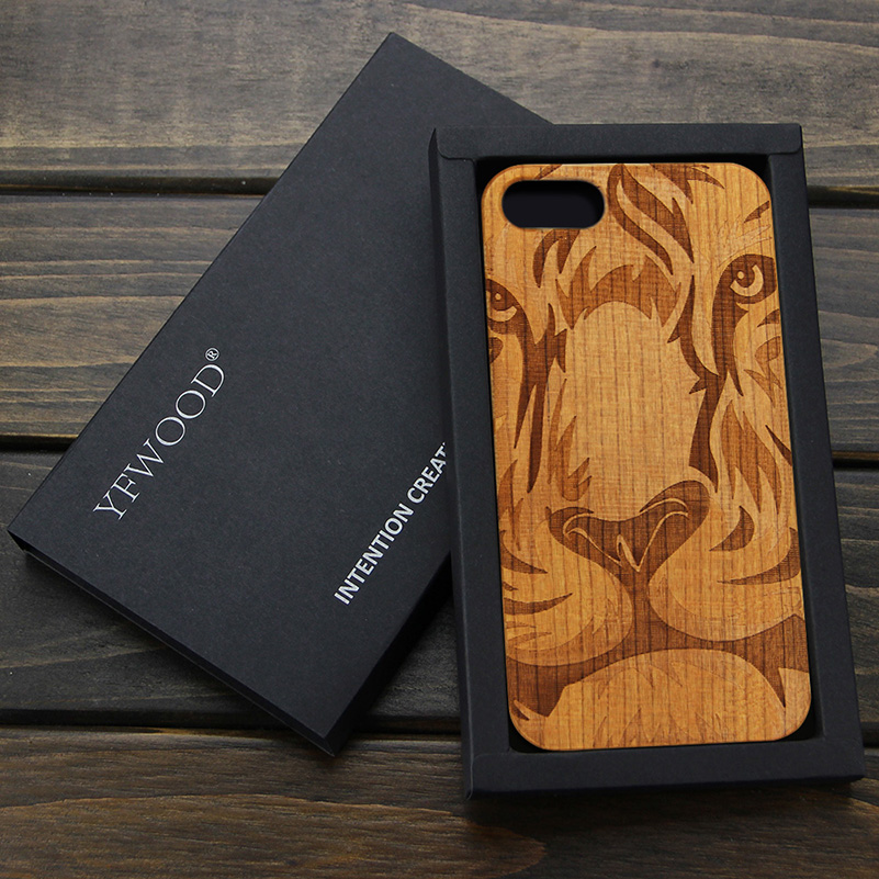 YFWOOD paper <strong>box</strong> for phone case gift <strong>box</strong> packaging <strong>box</strong> for wooden phone case