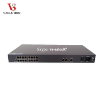 Best Performence 16 FXS Ports SIP VoIP Gateway for phone voip system