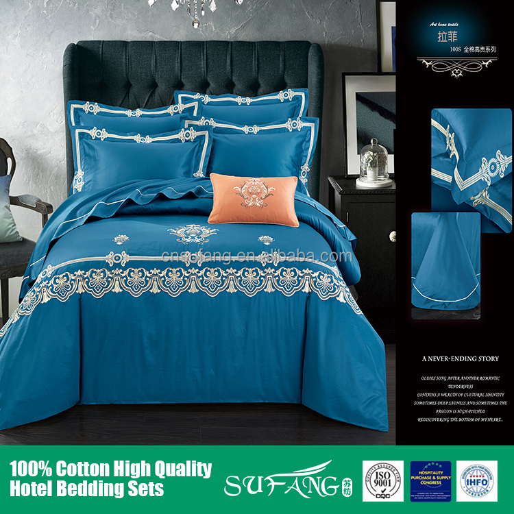 Hotel linen/South american market T500 bedding sets queen size,king zise,full size