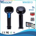 USB Grocery Store 2D Good performance QR Code CMOS RF433 Wireless handheld barcode scanner