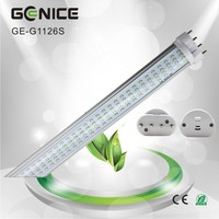 single tube 26w 2600lm 2g11 led lighting