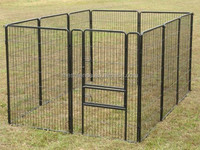 China hot sale 10x10x6 foot classic galvanized outdoor dog kennel/ dog kennel wholesale/ metal dog kennel