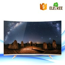 "49"" 55"" 65"" 3840*2160 UHD Curved TV with Android Operating system cheap led tv with vga port"