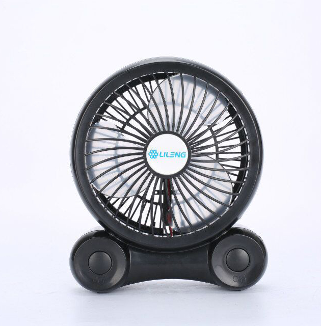 "6"" DC 5V Plastic Small Standing Air Cooling Fan,6 Inch Portable Rechargeable Desk Air Mini USB Fan With Lithium Battery"