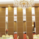 Acoustic Folding High Banquet Hall Wooden Room Divider Sliding Movable Operable Office Partitions Wall for Hotel