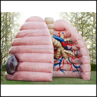 customized giant inflatable lung for promotion/ event