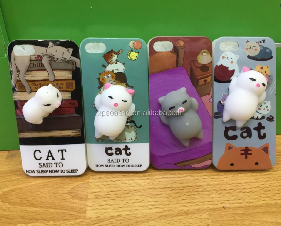 3D squishy case for iPhone 5, Relief case cover for iPhone 5S SE