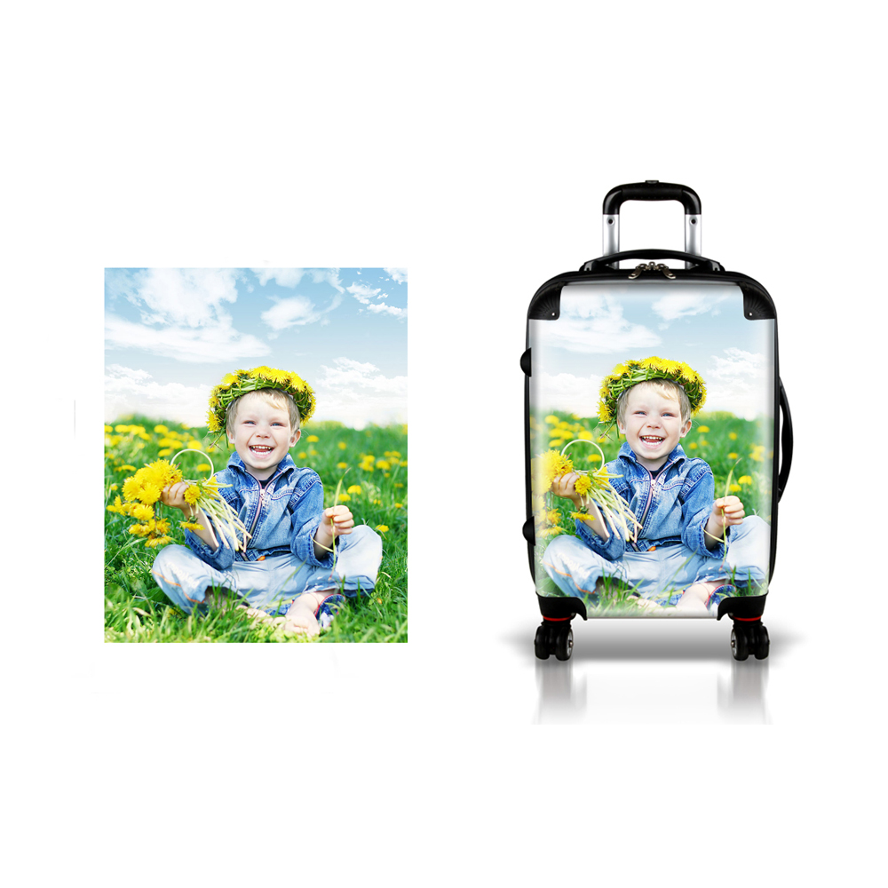 2017 New Product Personalized Transparent Luggage