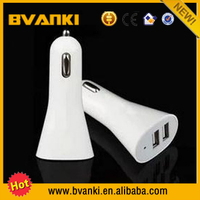 Low Price China Mobile Phone Accessories Dual USB Car Charger Fast Charging 12V Car Battery Charger For iPhone 5S