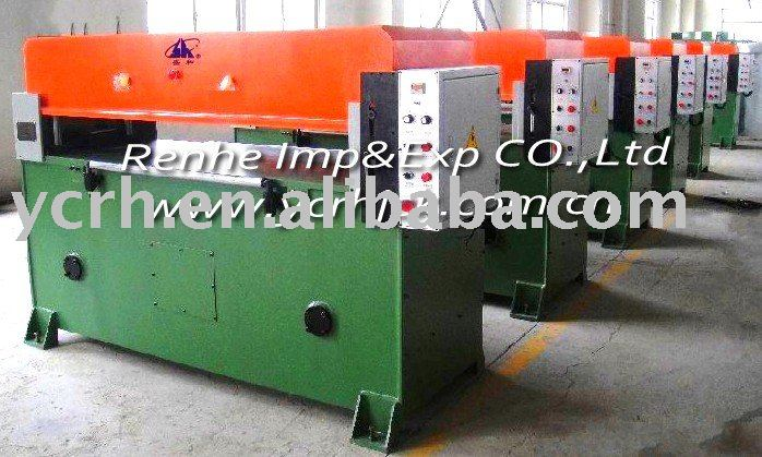 Four pillar Hydraulic Shoe Making Cutting Machine