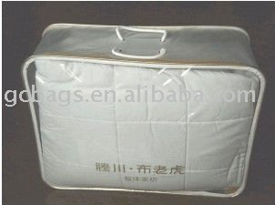 Guangzhou Transparent PVC packing bag for quilt