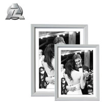 different types of a4 size aluminum customised picture photo frames