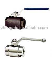 2pc Full Class 800 Forged Steel Ball Valve ,two piece valve,threaded ball valve